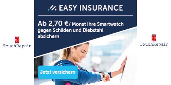 Versicherung Smartwatch