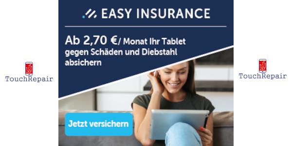 Versicherung Tablet